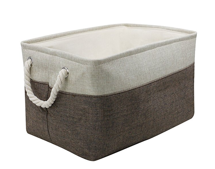 Collapsible Storage Bin Basket